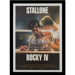 Rocky IV - Original Italian Release Poster