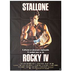 Rocky IV - Original Release French Poster
