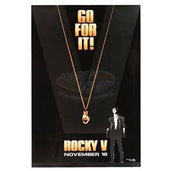 """Rocky V - """"Go For It"""" Teaser Poster"""