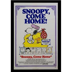 Snoopy Come Home - Original 1972 Release One-Sheet Poster