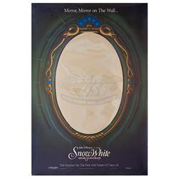 Snow White and the Seven Dwarfs - Original Mirror Advance One-Sheet Poster