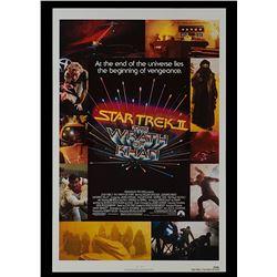 Star Trek II: The Wrath of Khan - Original One-sheet Poster