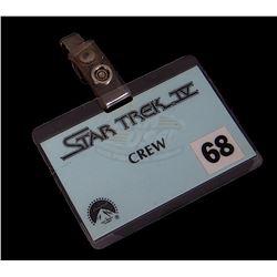 Star Trek IV: The Voyage Home - Crew Badge
