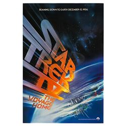 Star Trek IV: The Voyage Home - Original Advance One-Sheet Poster