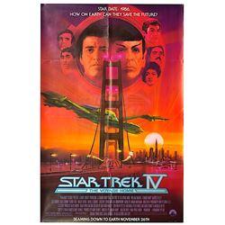 Star Trek IV: The Voyage Home - Original Advance Subway Poster