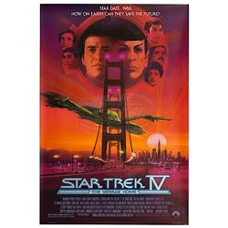 Star Trek IV: The Voyage Home - Original One-Sheet Poster