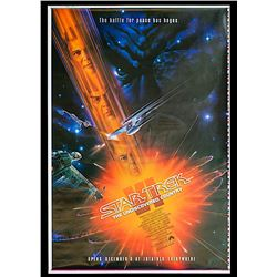 Star Trek VI: The Undiscovered Country - Rare Original Printers-Proof Advance One Sheet Poster