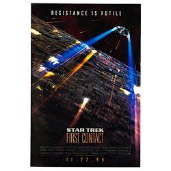 Star Trek: First Contact - Original Advance One-Sheet Poster