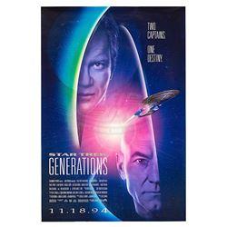 Star Trek: Generations - One-sheet Poster