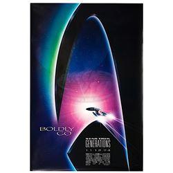 Star Trek: Generations - Original Advance One-Sheet Poster