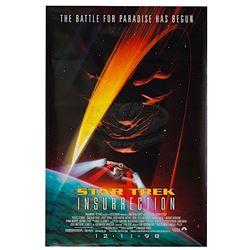 Star Trek: Insurrection - Original Advance One-Sheet Poster