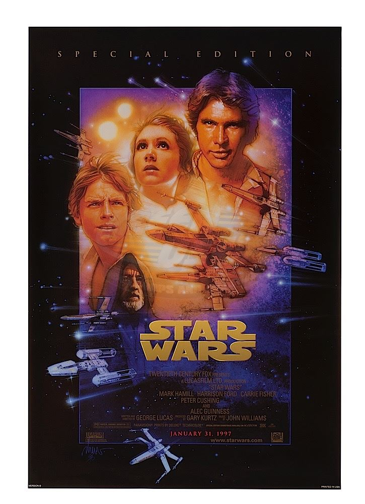 Star Wars Episode Iv A New Hope Special Edition Release One Sheet Poster