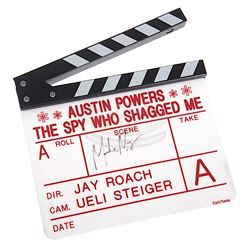 Austin Powers: The Spy Who Shagged Me - Mike Myers Signed Clapper Board