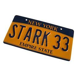 """Avengers, The - Tony's """"STARK 33"""" License Plate"""