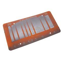 Back To The Future 2 - DeLorean Barcode License Plate
