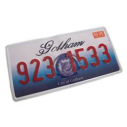Batman Begins - Gotham City License Plate