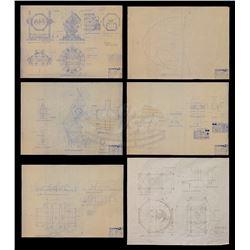 Batman Forever - Bat Signal Blueprints