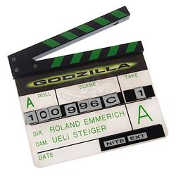 Godzilla - Production Clapper Board