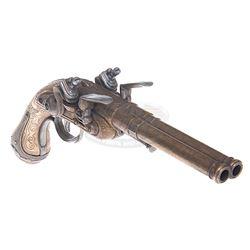 Pirates of the Caribbean: Curse of the Black Pearl - Double Barrel Flintlock Pistol