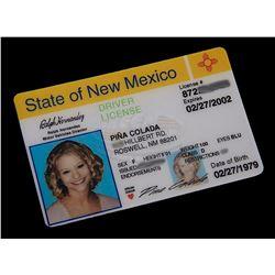 "Roswell (TV) - Tess' ""Fake"" Drivers License (Emilie de Ravin)"