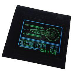 "Star Trek: Voyager (TV) - Starfleet ""Excelsior-Class"" Wall Panel Graphic"