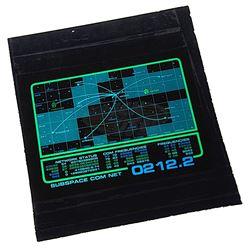 "Star Trek: Voyager (TV) - Starfleet ""Subspace Com Net"" Wall Panel Graphic"