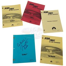 Star Trek: The Next Generation (TV) - Collection of Production Scripts