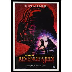 "Star Wars: Episode VI - Return of the Jedi - Rare Original ""Revenge"" Advance One-Sheet Poster"