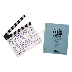 Steal Big Steal Little - Production Clapper Board & Script