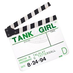 Tank Girl - Production Clapper Board
