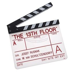 Thirteenth Floor, The - Production Clapper Board