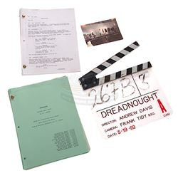 Under Siege - Production Clapper Board & Scripts