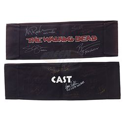 Walking Dead, The (TV) - Cast Autographed Production Chair Backs