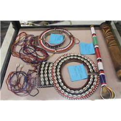 COLLECTION OF SOUTH PACIFIC BEAD WORK