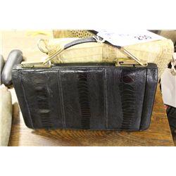 OSTRICH SKIN HAND BAG