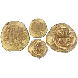 Mexico City, Mexico, cob 8 escudos, 1713J, from the 1715 Fleet, encapsulated NGC MS 64, tied for fin