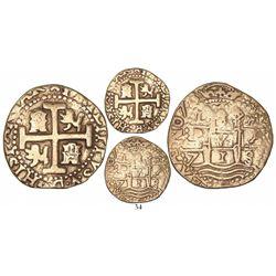 Lima, Peru, cob 8 escudos, 1713/2M.