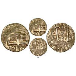 Lima, Peru, cob 8 escudos, 1738/7N, rare.