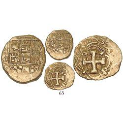 Bogota, Colombia, cob 2 escudos, 1743S, very rare, ex-Lasser and Santa Fe collections.