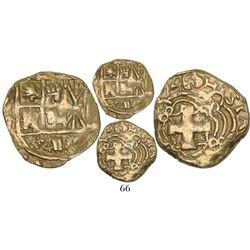Bogota, Colombia, cob 2 escudos, (1)746S, Philip V, rare, ex-Lasser and Santa Fe collections.
