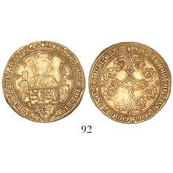 Brabant, Habsburg Netherlands (Belgium), pieter d'or, Joanna and Wenceslas (1355-83).