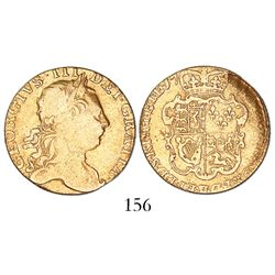 Great Britain (London, England), guinea, George III (3rd type), 17(??), rare as from the Lady Burges