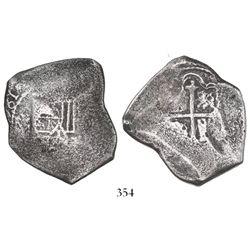 Mexico City, Mexico, cob 8 reales, (1)681(L).