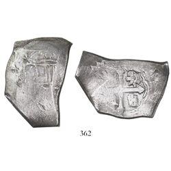 Mexico City, Mexico, cob 8 reales, (171)3(J), ex-Goodpaster.