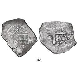 Mexico City, Mexico, cob 8 reales, (17)14(J), ex-Goodpaster.