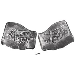 Mexico City, Mexico, cob 8 reales, (1)715(J).