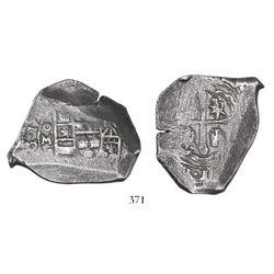 Mexico City, Mexico, cob 8 reales, 17(??)J.
