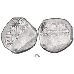 Mexico City, Mexico, cob 8 reales, Philip V, assayer J.