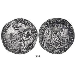 """Gelderland, United Netherlands, """"rider"""" ducatoon, 1667."""