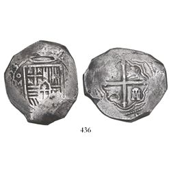 Mexico City, Mexico, cob 8 reales, (1)653(P), ex-Mark Bir collection.